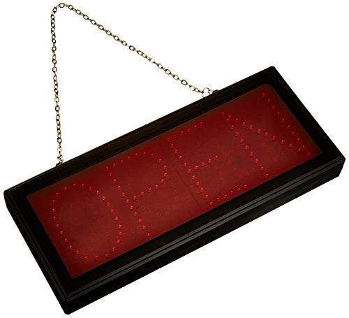 Cablematic DisplayMatic LED Tafel mit rotem OPEN Nachricht Decke Mit Dc-stecker
