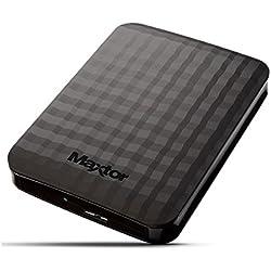 Maxtor Seagate HX-M201TCB/GM,HDD Esterno 2,5, 2TB, USB 3.0 Nero