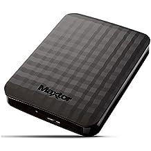 "Maxtor HX-M201TCB/GM - Disco duro externo de 2 TB (2.5"", USB 3.0/3.1 Gen 1), color negro"