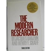 The Modern Researcher by Jacques Barzun (1977-08-01)