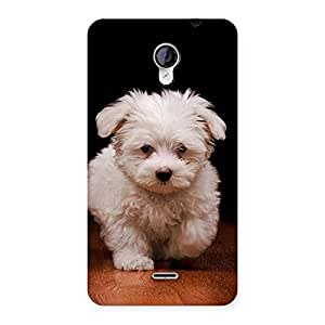 Cute Walking Dog Back Case Cover for Micromax Unite 2 A106