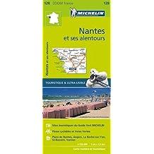 Carte Nantes et ses alentours Michelin