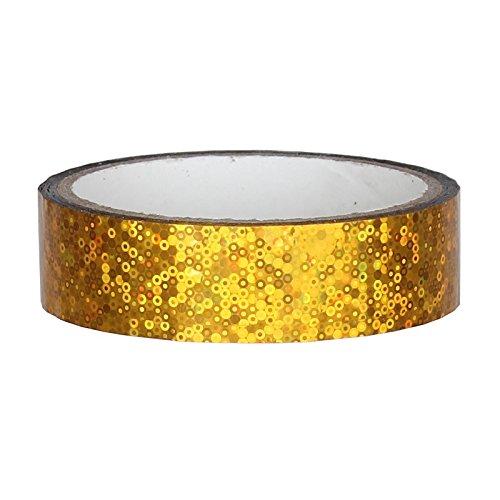 Glitter Deko Klebeband 25mm x 30m für Hula Hoop, - Hula-hoop Glitter