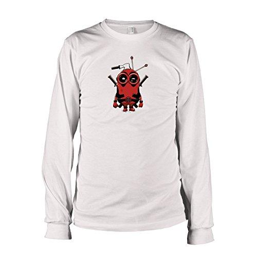 (TEXLAB - Banana Pool - Herren Langarm T-Shirt, Größe XXL, weiß)