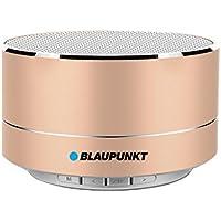 Blaupunkt BLP 3100 - Altavoz inalámbrico Bluetooth interior, Oro