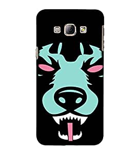EPICCASE Scary Wolf Mobile Back Case Cover For Samsung Galaxy A5 (Designer Case)