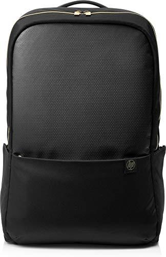 HP Duotone Zaino per Notebook fino a 15.6', Nero/Oro