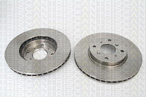 Triscan 812040120 Bremsscheibensatz 2 Stück vorne (89 Honda Accord Bremsscheiben)