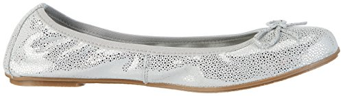 Marco Tozzi Cool Club 42403, Ballerines Fille Gris (Grey Metallic 297)