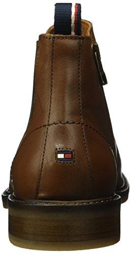 Tommy Hilfiger R2285ounder 2a, Bottes Classiques homme Marron - Braun (brandy 601)