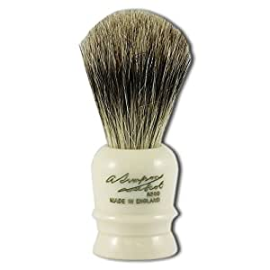 Simpsons Wee Scot Best Badger Hair Shaving Brush in Imitation Ivory