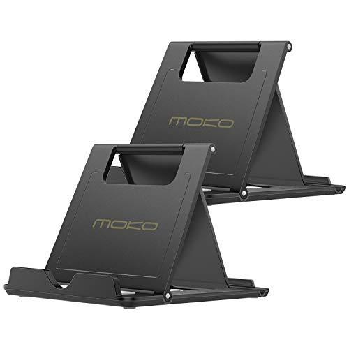 MoKo Mini Portable Handy/Tablet Ständer(2 Pack), Desktop Halterung für 6-8