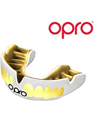 OPRO Power-Fit Mouthguard Bling Gum Shield for Ball, Stick & Combat Sports - 18 Month Dental Warranty