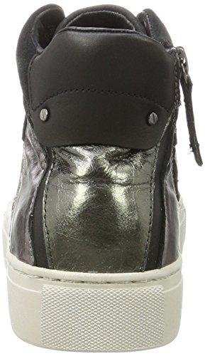 CRIME London Damen 25261a17b Hohe Sneaker Schwarz (Rose Schwarz)