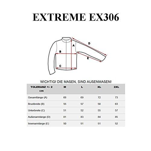 BOLF Herrenjacke Kunstlederjacke Sweatjacke Übergangsjacke Ökolederjacke EXTREME EX306 Braun