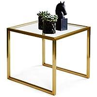 BZ-ZK SZQ-Mesa de Centro Tablas de Espejos, mesas de decoración del Hotel con Espejos mesas de Centro de la Plaza Living Room Pequeño Secundarios Tablas de Oro de Noche Mesa de sofá