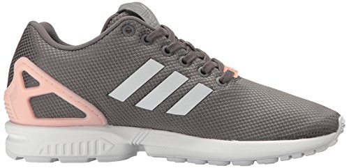 Trainers Granite Leather Womens Metallic Adidas Silver Flux ZX Black wzvnfp