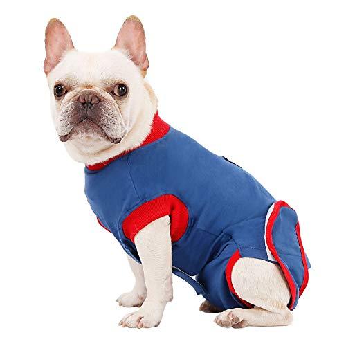 Leezo Ropa para Mascotas Medical Después de la cirugía Use para Perros y amp; Traje de recuperación para Perros y amp; Gatos, Alternativa de Cuello E para la ansiedad postoperatoria, Camisetas