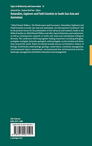 Naturalists, Explorers and Field Scientists in South-East Asia and Australasia (Topics in Biodiversity and Conservation)