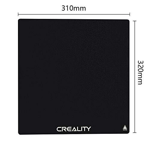Placa de construcción de cristal oficial de Creality para la impresora 3D CR-10S Pro