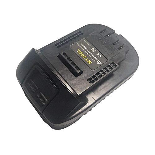 Tianxiu Ladegerät Adapter Lithium-Ionen-Akkuladegerät 18 V USB-Akkuladegerät Für 20 V Lithium-Akku-Elektrowerkzeug BL1830 BL1860 BL1815 DCB200 - Volt 20 Dewalt Usb