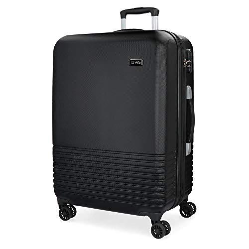 Il Cavallino 5749261Ride valigia 69cm, 78litri, Nero