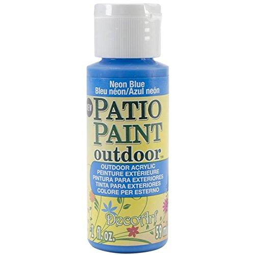 Patio Paint 2oz-Neon Blue