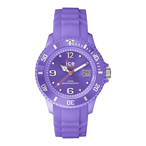 Ice-Watch Ice-Forever Trendy Light Purple – Unisex – Unisex Watch Quartz Analogue Purple Dial Purple Silicone Strap SI. LPE. U.S.14