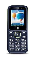 iBall CR2 Dual Sim Wireless FM - Black+Blue
