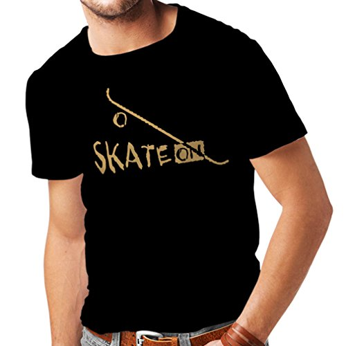 T-Shirts-for-Men-Skate-ON-Motivational-Clothing-SkateboardSkateLongboard-Gifts-for-The-Skateboarders