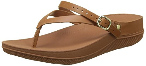 Fitflop Women Flip Leather Back-Strap Sandals