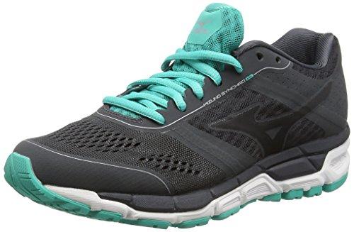 mizuno-synchro-mx-womens-running-shoes-dark-shadow-black-atlantis-7-uk