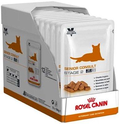 royal canin Senior Consult Stage 2 Umido per Gatti Anziani sterilizzati
