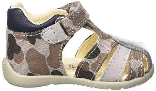 Geox B Kaytan H, Chaussures Marche Bébé Garçon Gris (GREY/NAVYC0665)