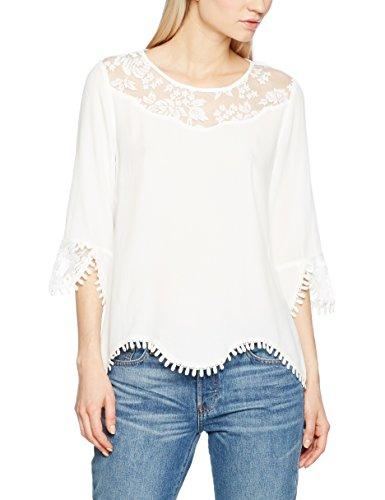 412JmO7nMQL - Cream Damen Bluse Kalanie Blouse