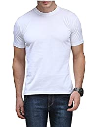 M.O.D Men's Round Neck Half Sleeve Solid T-Shirts