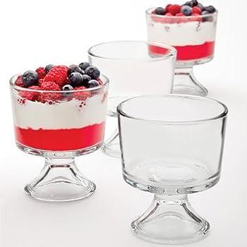 Amazon Uk Glass Dessert Bowls