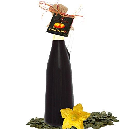 Krbiskernl In Premiumqualitt Aus Sterreich Steiermark Gga Naturrein Kaltgepresst Ungefiltert Amphore Magnum Flasche 1500ml 15 Liter