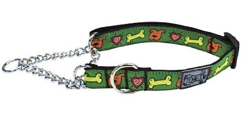 RC Pet Products 1Training Martingale Hundehalsband, X-Large 18–26, ME LOVE behandelt (Choke Kragen Ausbildung)