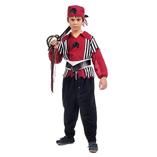 Kostüm 2 Shank - Limit mi005T2Pirat Shanks Kinder-Kostüm