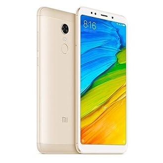 Xiaomi Redmi 5 Plus Smartphone, 32 GB, Oro [Italia]