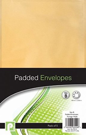 10Peel & Seal-b Größe Gepolsterte Umschläge//2Packungen von 5 (Clear Stamp Holder)