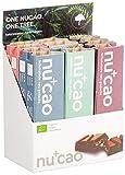 nucao Veganer Bio Superfood Riegel – Mixed Box – Nährstoffreiche Vegane Schokolade aus Hanfsamen & Roh-Kakao, 480 g