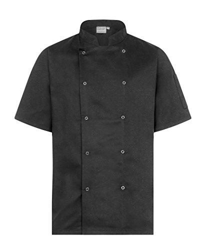 Proluxe - Chaqueta Chef - Hombre Negro Negro (Large