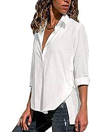 Suchergebnis auf Amazon.de für  elegante weiße Bluse  Bekleidung 3ce19b8974