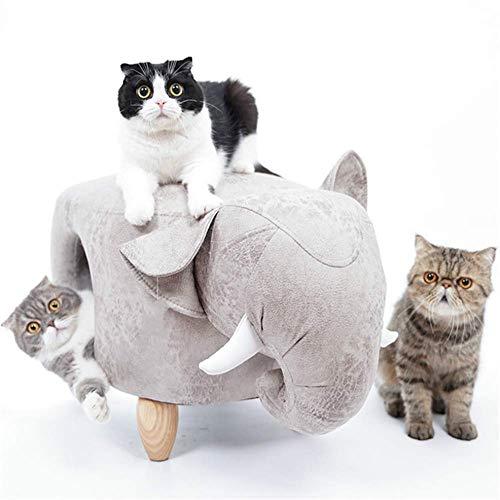Daoxiang Las Personas y Las Mascotas comparten la casa de Mascotas y los Asientos en Forma de Elefante la casa de Mascotas Creativa, la casa del Gato