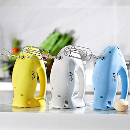 Tilt-taste (Elektrische Haushaltshand Tilt Typ Multi-Funktions-elektrischer Ei-Beater Mixer, Stampfer, BPA frei, Gelb, 21 * 8 * 14cm)