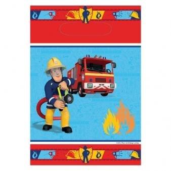 Image of Fireman Sam Loot Bag - Pack of 8