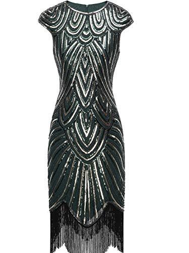 20 S Kleider - FAIRY COUPLE Damen 1920 Pailletten verschönert