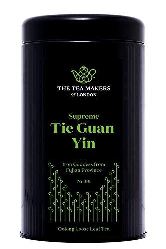 The Tea Makers of London  Supreme Tie Guan Yin Iron Buddha Tee vom Teekontor mit prämierten Tees, 1er Pack (1 x 125 g) (Ti Guan)